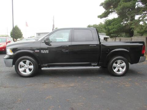 2013 RAM Ram Pickup 1500 for sale at Home Street Auto Sales in Mishawaka IN