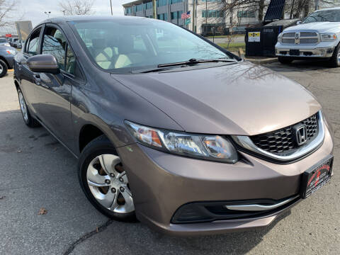 2015 Honda Civic for sale at JerseyMotorsInc.com in Teterboro NJ