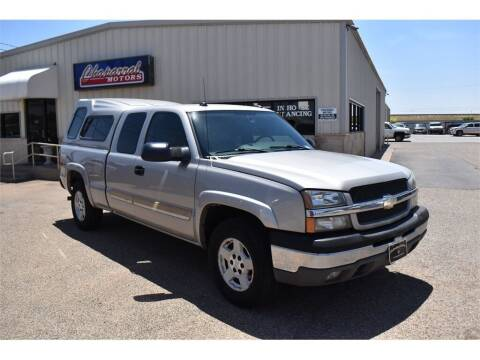 2004 Chevrolet Silverado 1500 for sale at Chaparral Motors in Lubbock TX