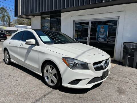 2015 Mercedes-Benz CLA for sale at Car Online in Roswell GA