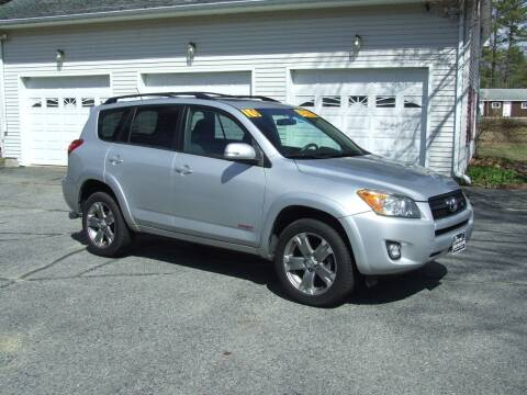 2010 Toyota RAV4 for sale at DUVAL AUTO SALES in Turner ME