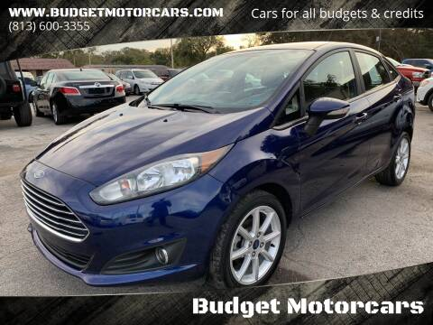 2016 Ford Fiesta for sale at Budget Motorcars in Tampa FL