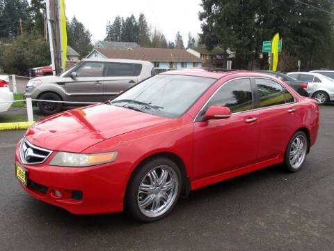 2007 Acura TSX for sale at Yellow Line Motors in Lafayette OR