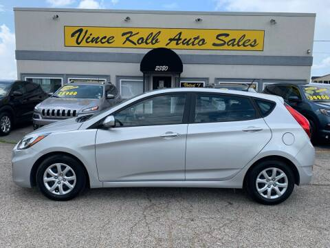 2014 Hyundai Accent for sale at Vince Kolb Auto Sales in Lake Ozark MO