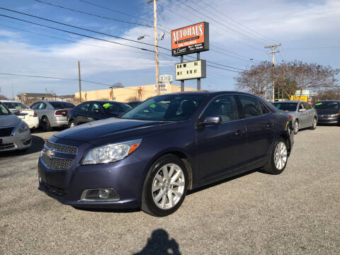 2013 Chevrolet Malibu for sale at Autohaus of Greensboro in Greensboro NC