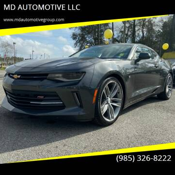 2016 Chevrolet Camaro for sale at MD AUTOMOTIVE LLC in Slidell LA