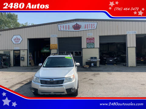 2011 Subaru Forester for sale at 2480 Autos in Kenmore NY