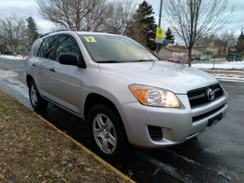 2012 Toyota RAV4 for sale at Kevs Auto Sales in Helena MT
