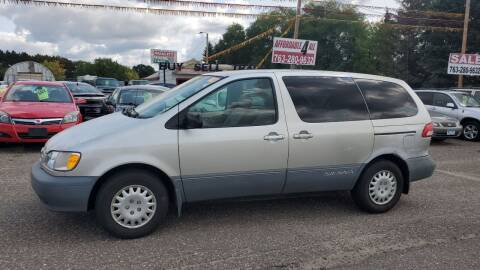 2003 Toyota Sienna for sale at Affordable 4 All Auto Sales in Elk River MN