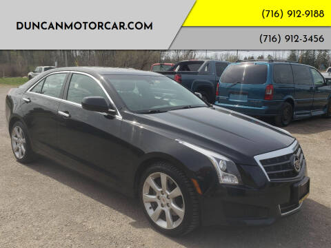 2013 Cadillac ATS for sale at DuncanMotorcar.com in Buffalo NY