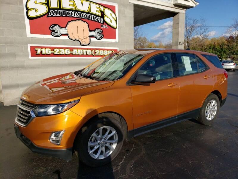 2018 Chevrolet Equinox for sale at Steve's Automotive Inc. in Niagara Falls NY