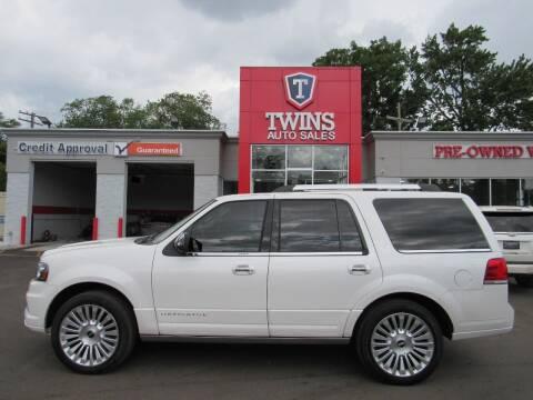 2015 Lincoln Navigator for sale at Twins Auto Sales Inc - Detroit in Detroit MI