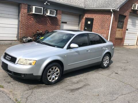 2003 Audi A4 for sale at Emory Street Auto Sales and Service in Attleboro MA