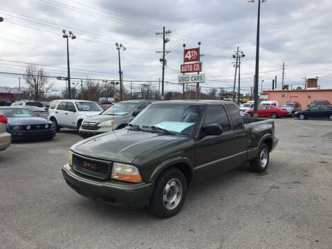 2000 GMC Sonoma for sale at 4th Street Auto in Louisville KY