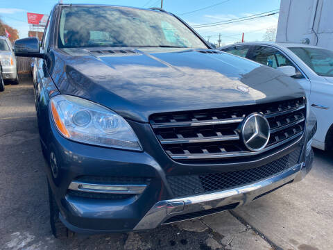 2012 Mercedes-Benz M-Class for sale at GRAND USED CARS  INC in Little Ferry NJ