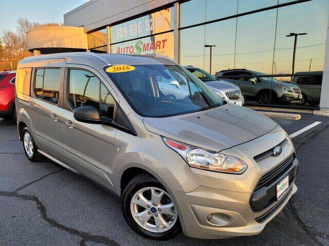 2016 Ford Transit Connect Wagon for sale at Auto Smart of Pekin in Pekin IL