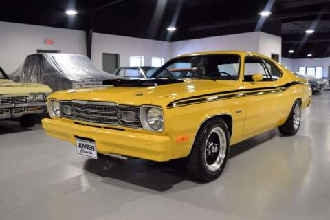 1974 Plymouth Duster for sale at Jensen's Dealerships in Sioux City IA