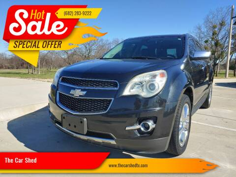 2011 Chevrolet Equinox for sale at The Car Shed in Burleson TX