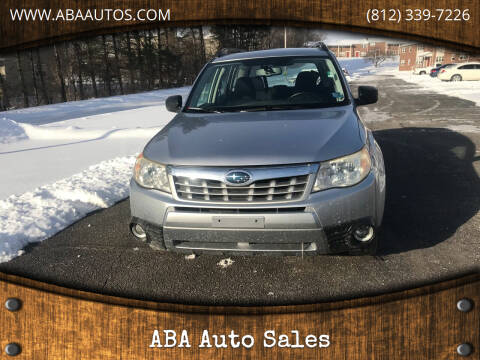 2012 Subaru Forester for sale at ABA Auto Sales in Bloomington IN