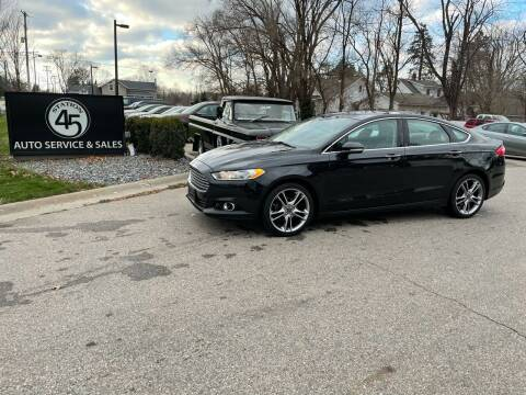 2014 Ford Fusion for sale at Station 45 Auto Sales Inc in Allendale MI