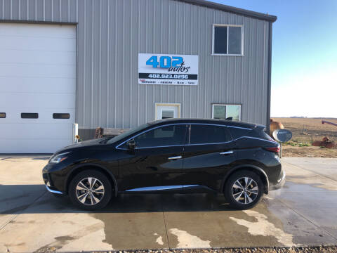 2020 Nissan Murano for sale at 402 Autos in Lindsay NE