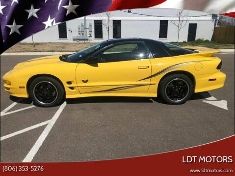 2002 Pontiac Firebird for sale at LDT MOTORS in Amarillo TX