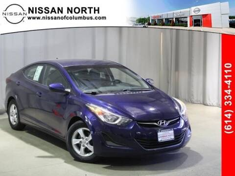 2014 Hyundai Elantra for sale at Auto Center of Columbus in Columbus OH