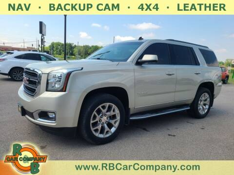 2015 GMC Yukon for sale at R & B Car Co in Warsaw IN