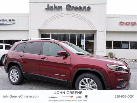 2020 Jeep Cherokee for sale at John Greene Chrysler Dodge Jeep Ram in Morganton NC