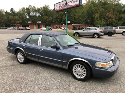 2009 Mercury Grand Marquis for sale at Bull City Auto Sales and Finance in Durham NC