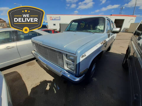 1985 Chevrolet Suburban for sale at Tower Motors in Brainerd MN