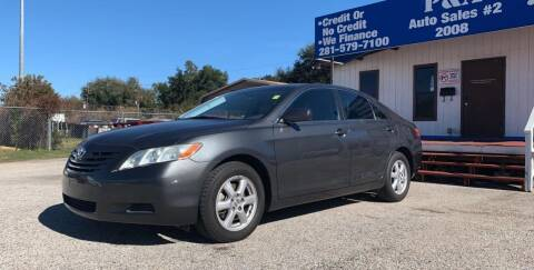 2007 Toyota Camry for sale at P & A AUTO SALES in Houston TX