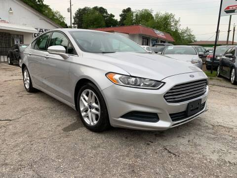 2015 Ford Fusion for sale at SR Motors Inc in Gainesville GA