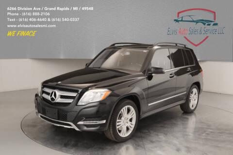 2013 Mercedes-Benz GLK for sale at Elvis Auto Sales LLC in Grand Rapids MI