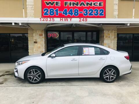 2019 Kia Forte for sale at FREDYS CARS FOR LESS in Houston TX