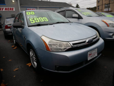 2008 Ford Focus for sale at M & R Auto Sales INC. in North Plainfield NJ