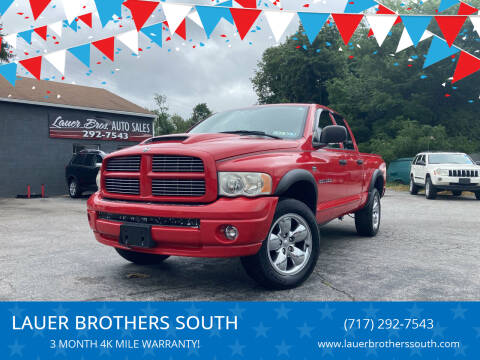 2005 Dodge Ram Pickup 1500 for sale at LAUER BROTHERS SOUTH in York PA