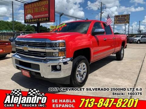 2017 Chevrolet Silverado 2500HD for sale at Alejandro Cars & Trucks Inc in Houston TX
