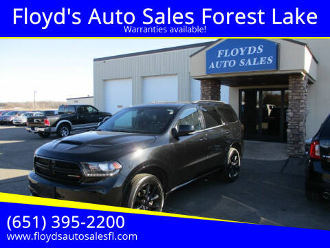 2018 Dodge Durango for sale at Floyd's Auto Sales Forest Lake in Forest Lake MN