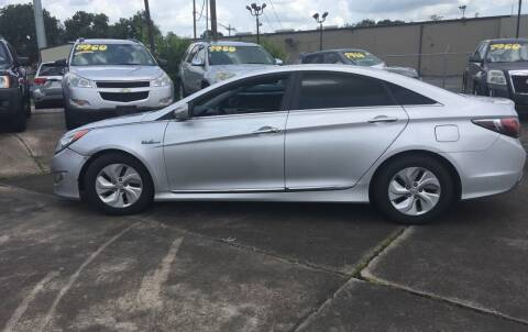 2013 Hyundai Sonata Hybrid for sale at Bobby Lafleur Auto Sales in Lake Charles LA