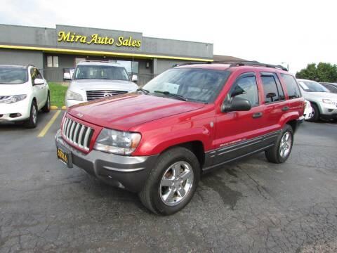 2004 Jeep Grand Cherokee for sale at MIRA AUTO SALES in Cincinnati OH