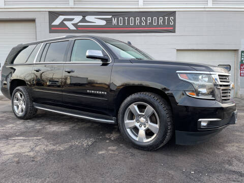 2017 Chevrolet Suburban for sale at RS Motorsports, Inc. in Canandaigua NY