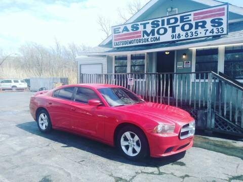 2012 Dodge Charger for sale at EASTSIDE MOTORS in Tulsa OK