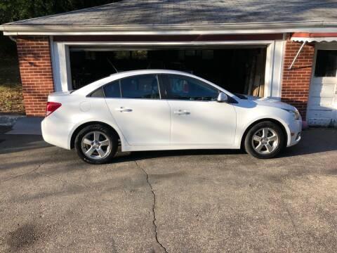 2014 Chevrolet Cruze for sale at CHRIS AUTO SALES in Cincinnati OH