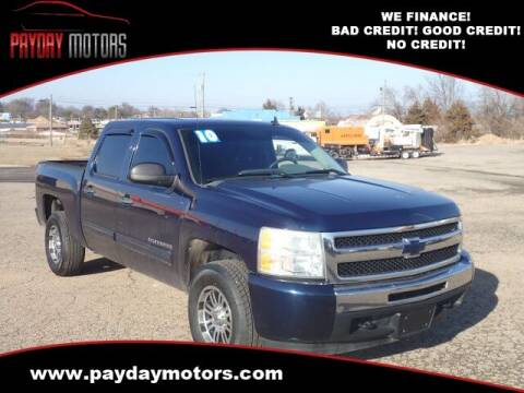 2010 Chevrolet Silverado 1500 for sale at Payday Motors in Wichita And Topeka KS