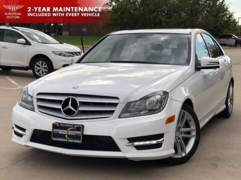 2013 Mercedes-Benz C-Class for sale at European Motors Inc in Plano TX