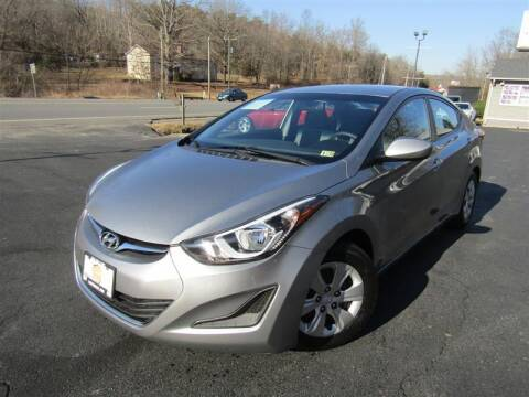 2016 Hyundai Elantra for sale at Guarantee Automaxx in Stafford VA