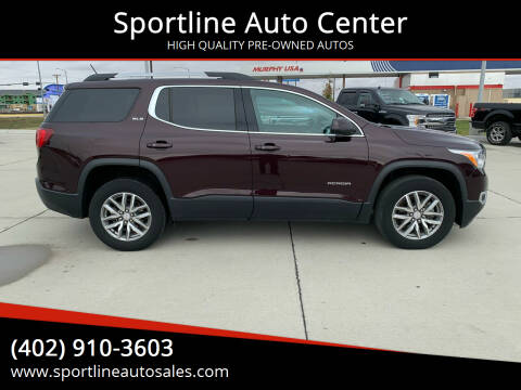 2017 GMC Acadia for sale at Sportline Auto Center in Columbus NE