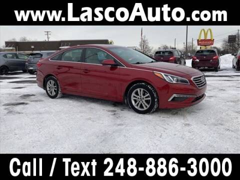 2015 Hyundai Sonata for sale at Lasco of Waterford in Waterford MI