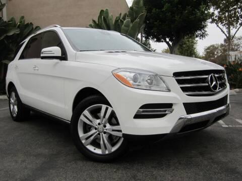 2015 Mercedes-Benz M-Class for sale at ORANGE COUNTY AUTO WHOLESALE in Irvine CA